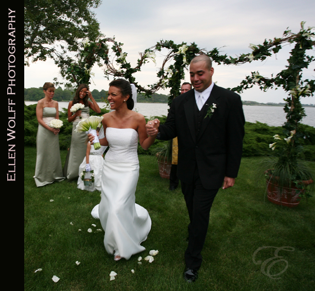 wedding in the hamptons on georgica