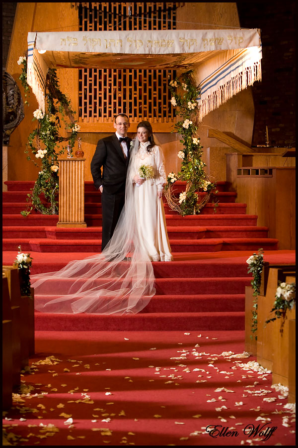 temple beth sholom roslyn wedding