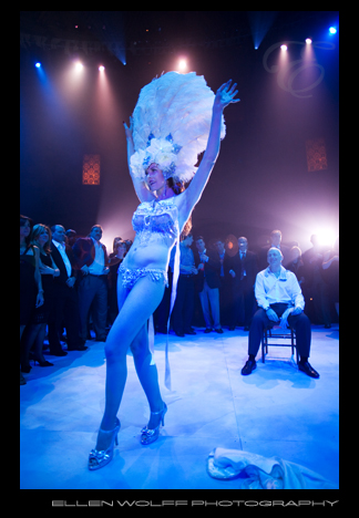 birthday party striptease act at gotham hall nyc