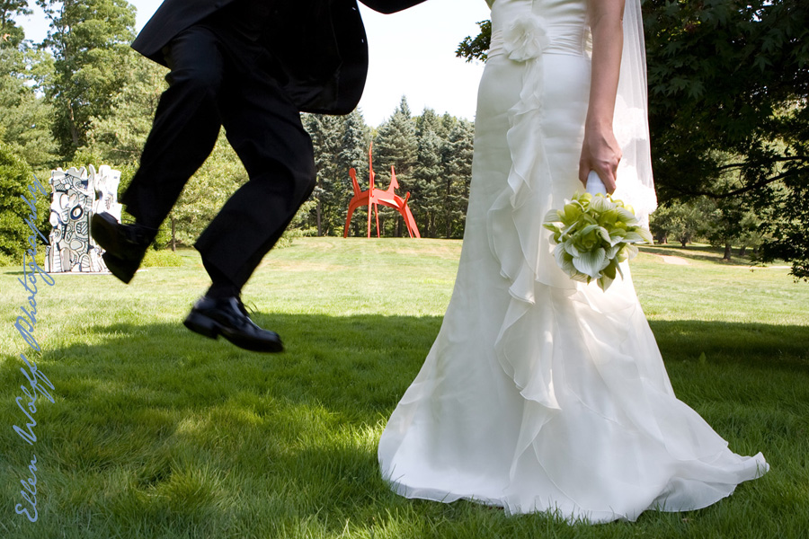 wedding photos at pepsico campus purchase new york