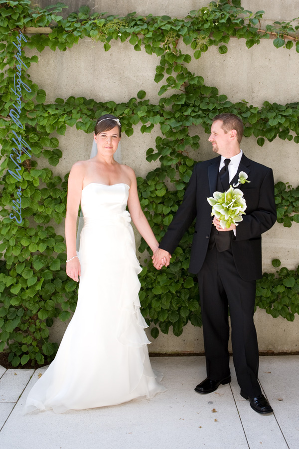 wedding photos at pepsico campus in purchase new york