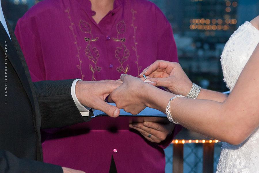 ring photo at a wedding