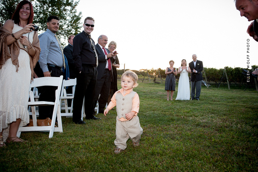li summer vineyard wedding