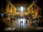 Grand Central Station engagement portraits
