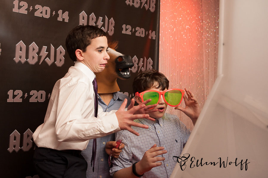 fun bar mitzvah photo
