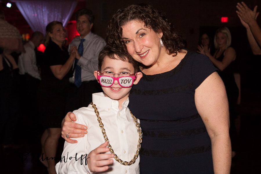 fun bar mitzvah dance floor photo