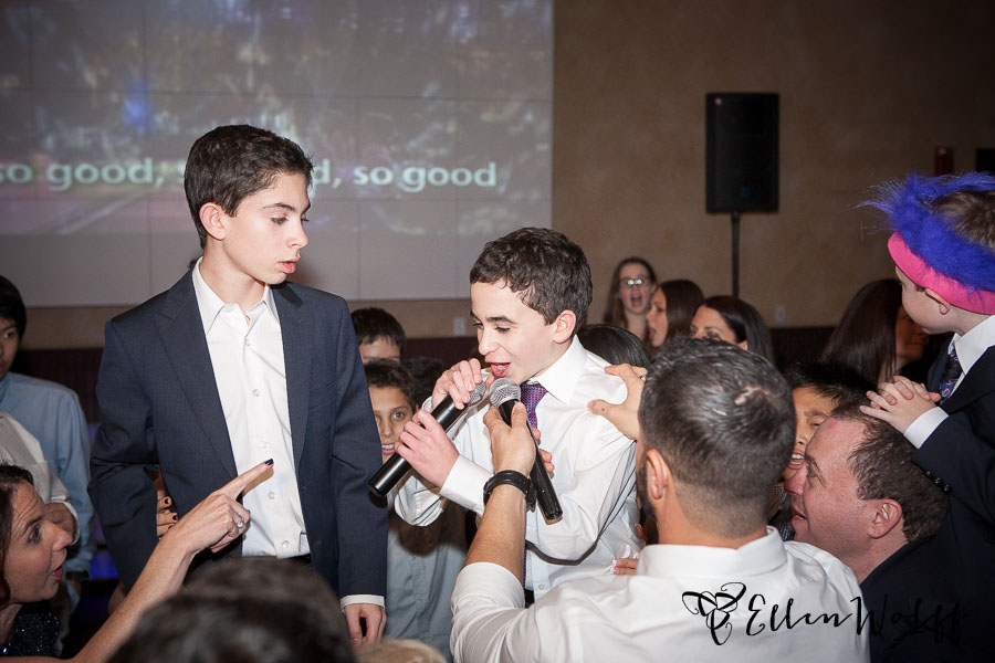 Bnot Mitzvah candid photo