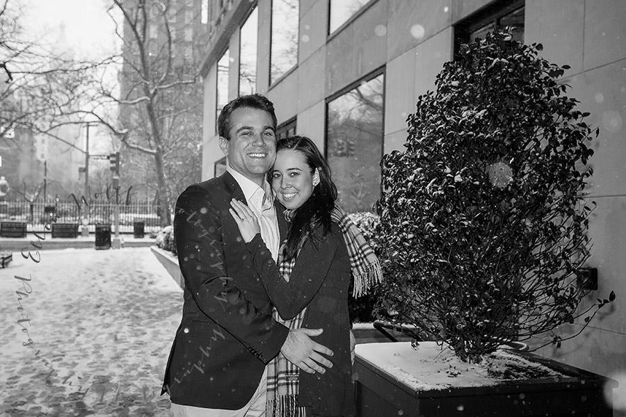Gramercy Hotel engagement photography