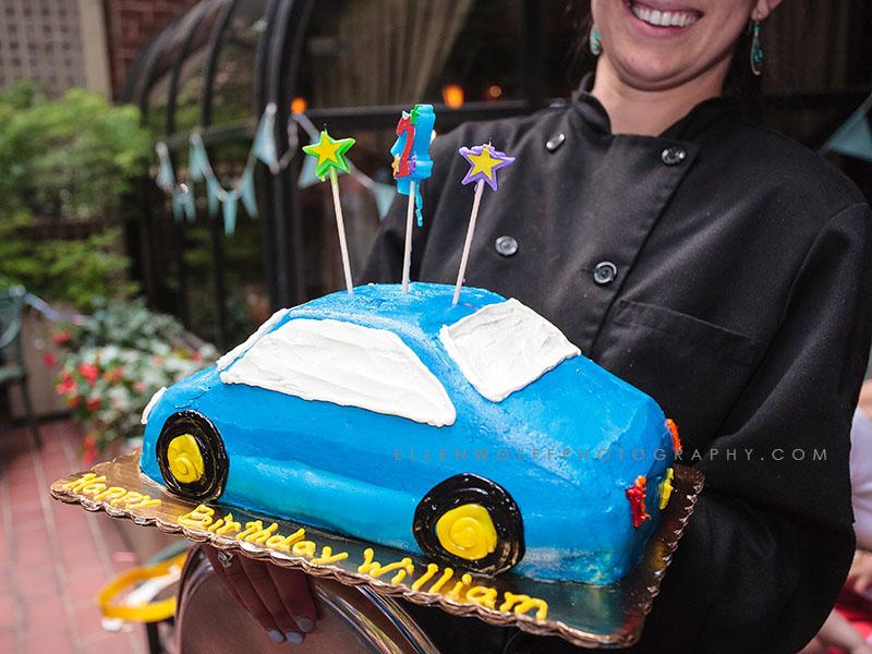 car birthday cake for a 2 year old boy