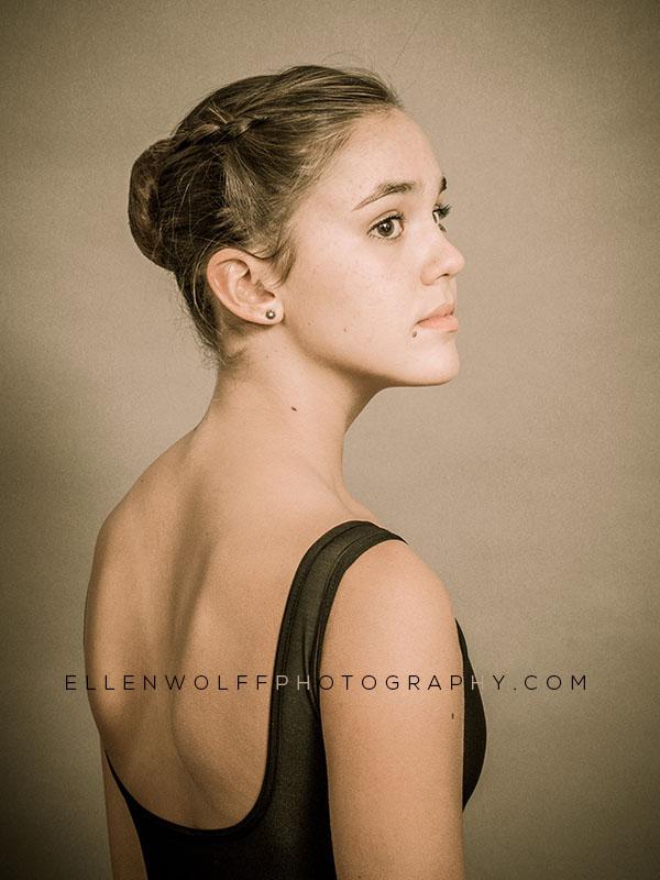 professional headshot for ballet