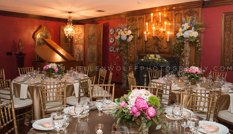 engament party room decor