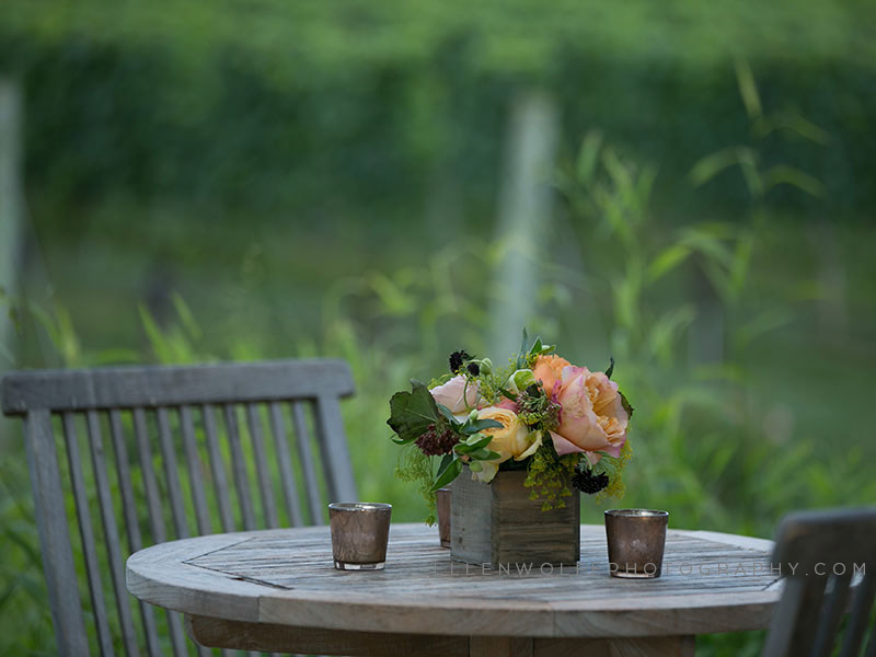 elegant outdoor event florals