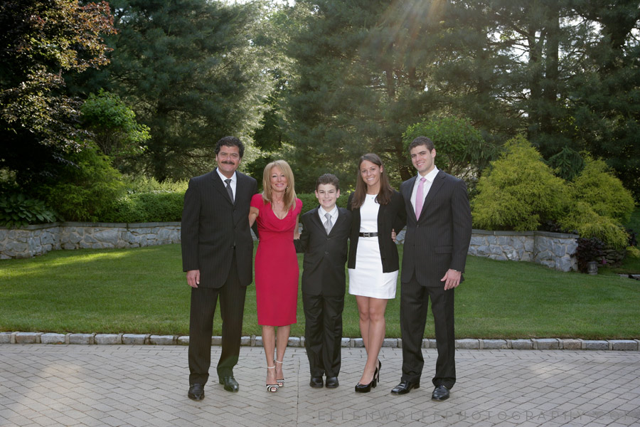 formal family photo session on long island
