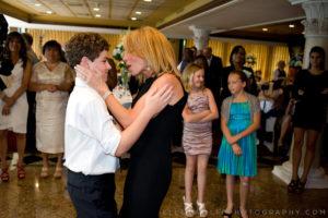 mother son dance at a bar mitzvah