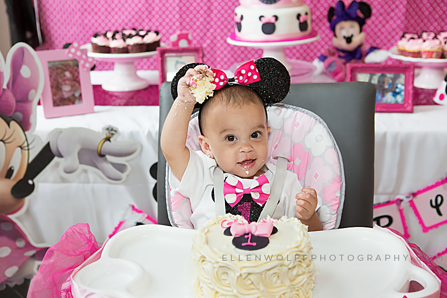 a first birthday party