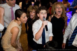 candid bar mitzvah dance floor photo