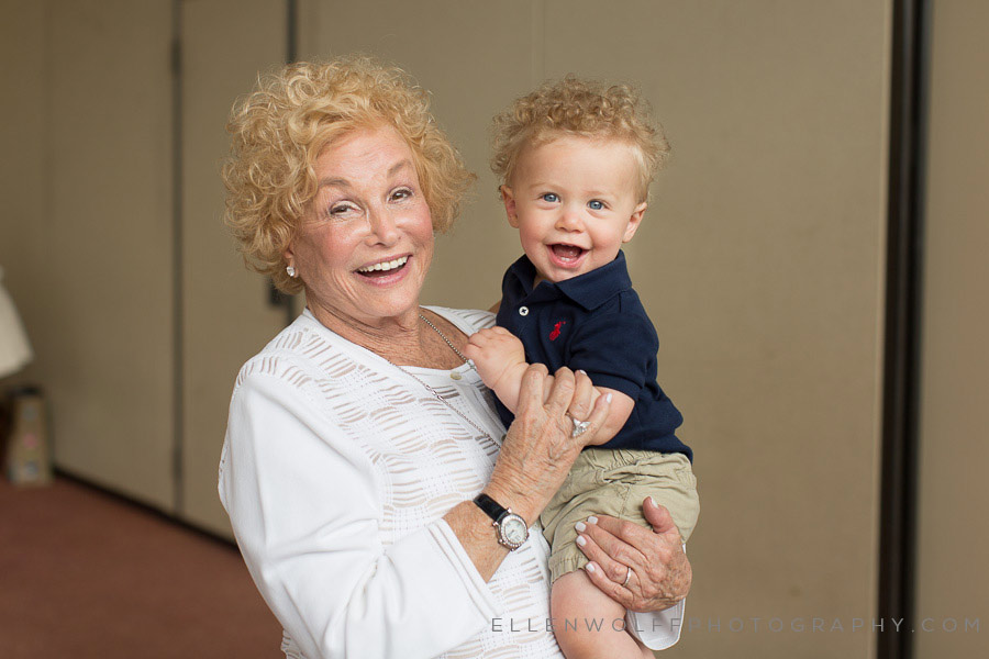 great grandmother and great grandson