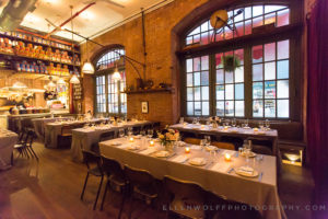 dining room at Gelso and Grand