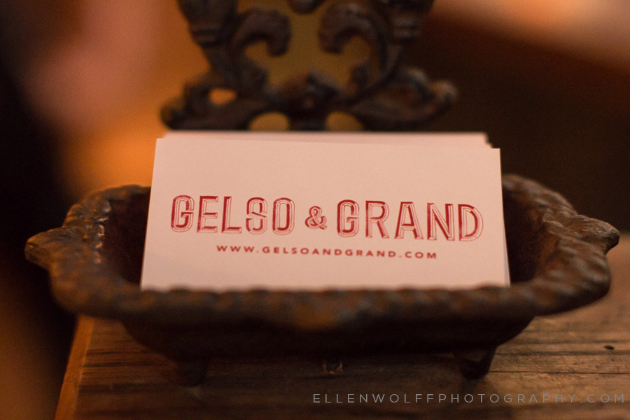 gelso & grand business card