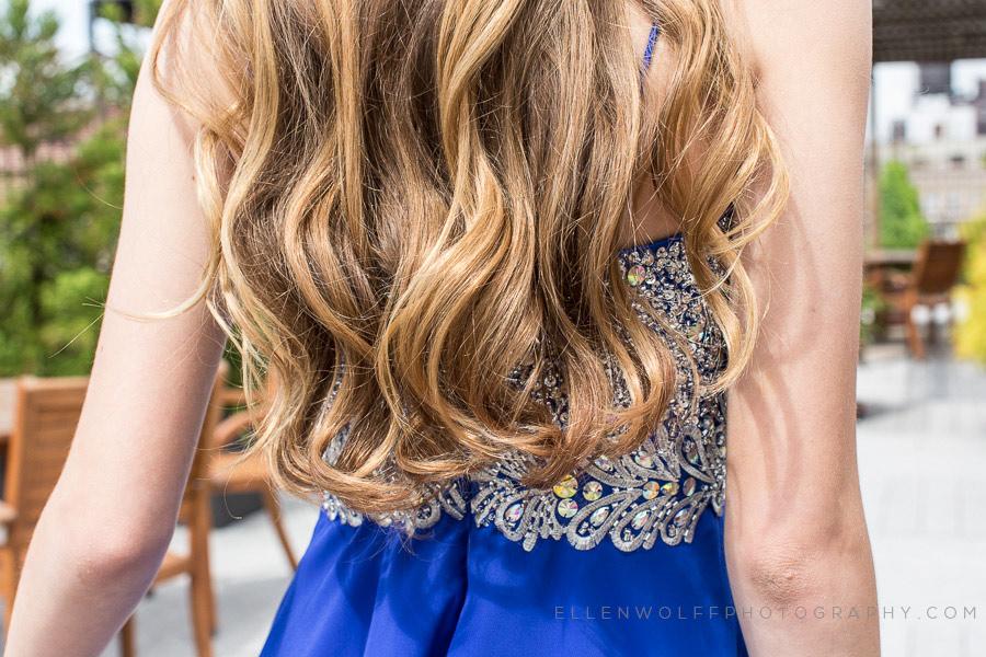 long and pretty bat mitzvah hair